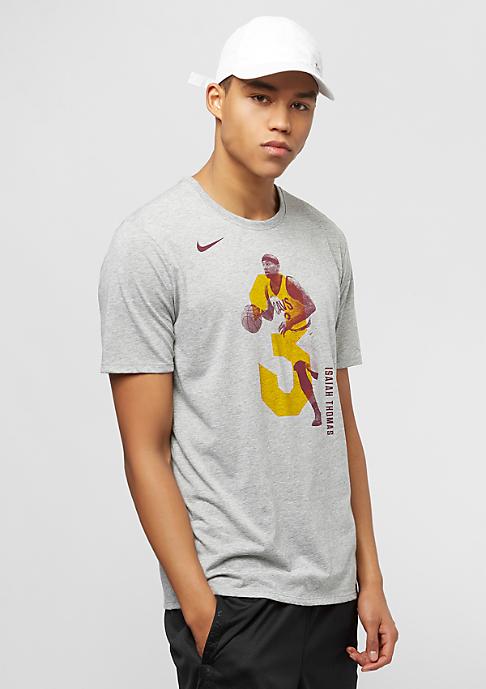 NIKE NBA Cleveland Cavaliers Isaiah Thomas grey heather