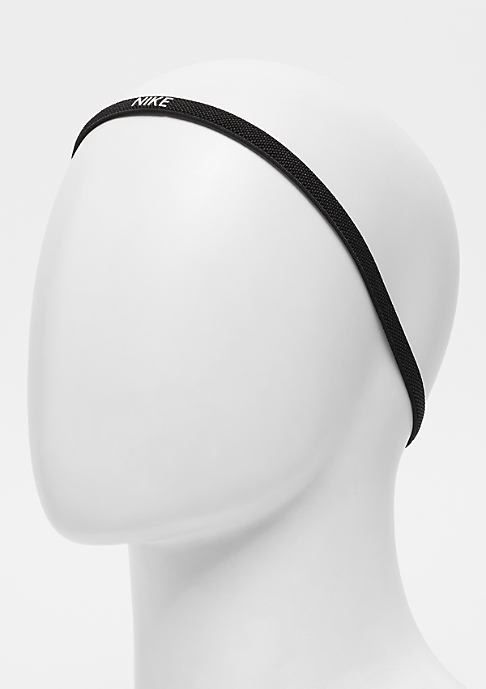 NIKE Elastic Hairbands 3 Pack black/white/black