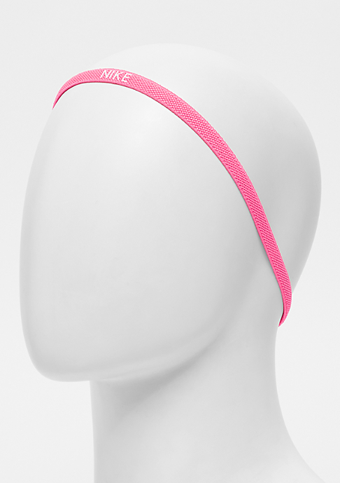 NIKE Elastic Hairbands 3 Pack volt/black/hyper pink