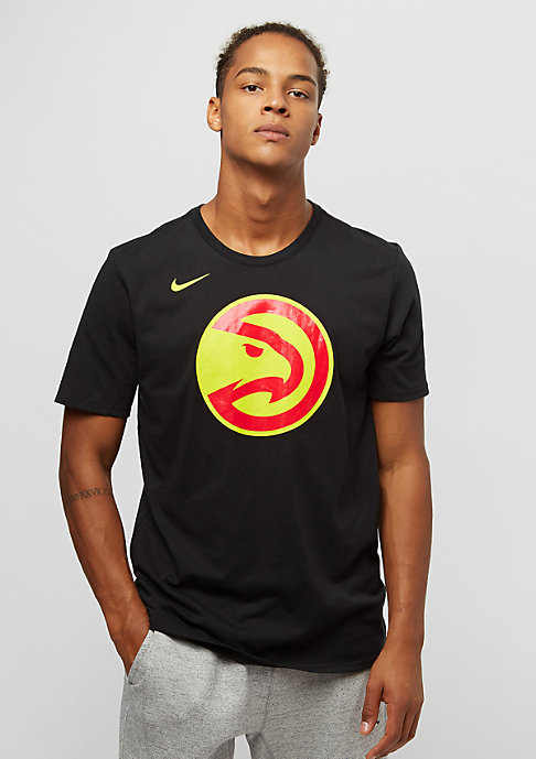 NIKE NBA Atlanta Hawks black