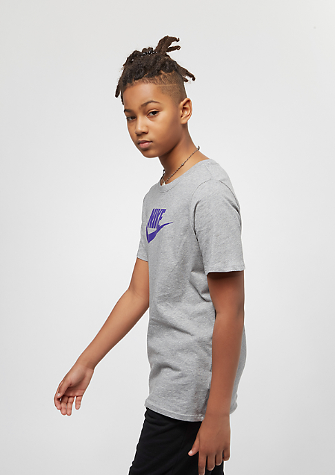 NIKE Junior Futura Icon dark grey heather/fusion violet