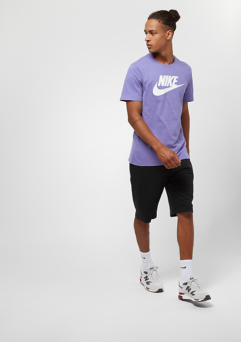 NIKE Icon Futura purple slate/white