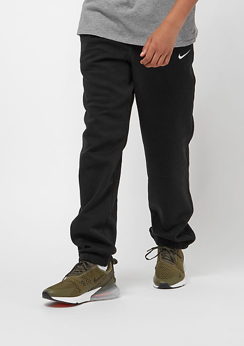 NIKE Junior Brushed Fleece Cuffed black/white/white