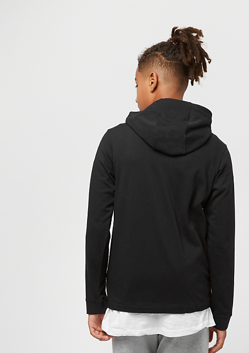 NIKE Junior NSW Hoodie black/wolf grey