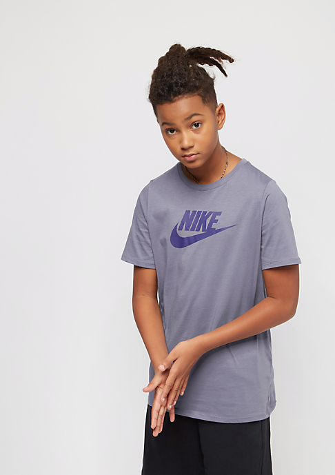 NIKE Kids Crew Future Icon light carbon/deep royal blue