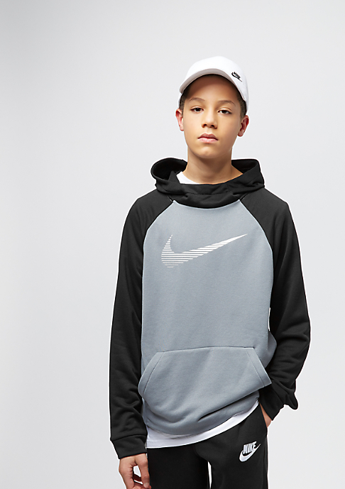 NIKE Kids Dry Fleece cool grey/black/white
