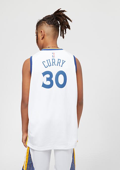NIKE Kids Golden State Warriors Stephen Curry Trikot white