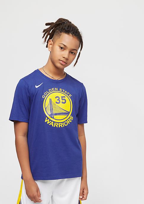 NIKE Basketball Kids Golden State Warriors Kevin Durant blau