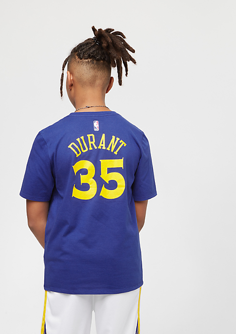 NIKE Kids Golden State Warriors Kevin Durant blau