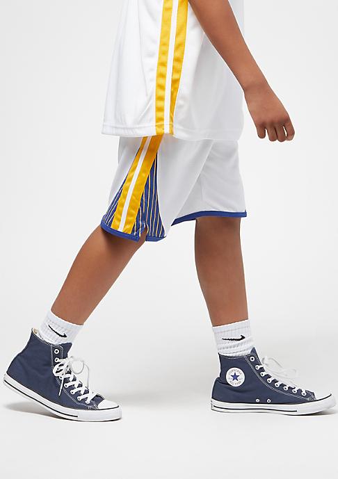 NIKE Kids Golden State Warriors Shorts white