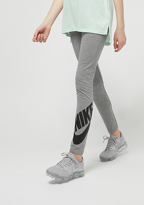NIKE Kids Leg-A-See carbon heather/black
