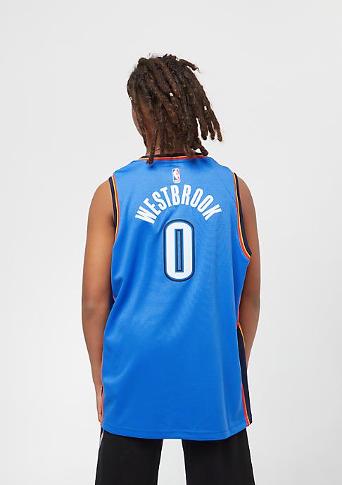NIKE Kids Oklahoma City Thunder Russell Westbrook Trikot blue