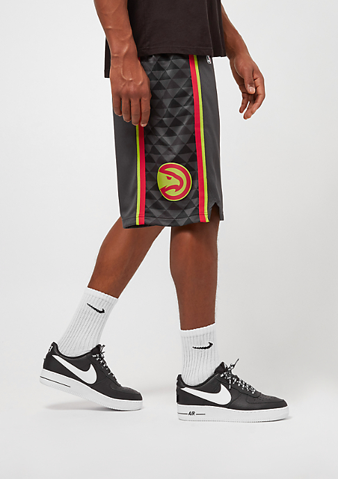 NIKE NBA Atlanta Hawks black/university red/green