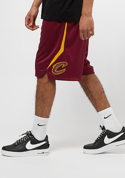 NIKE NBA Cleveland Cavaliers Short team red/university gold