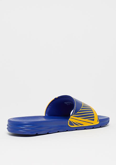 NIKE Basketball NBA Golden State Warriors Solarsoft amarillo/rush blue-rush blue