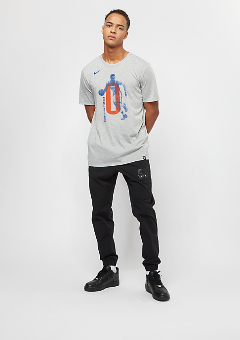 NIKE Basketball NBA Oklahoma City Thunder Russell Westbook Player grey heather