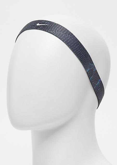 NIKE Printed Headbands Assorted 4 Pack blue/black/fusion violet