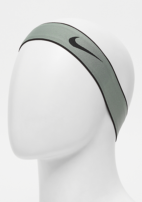 NIKE Pro Swoosh Headband 2.0 clay green/black/black