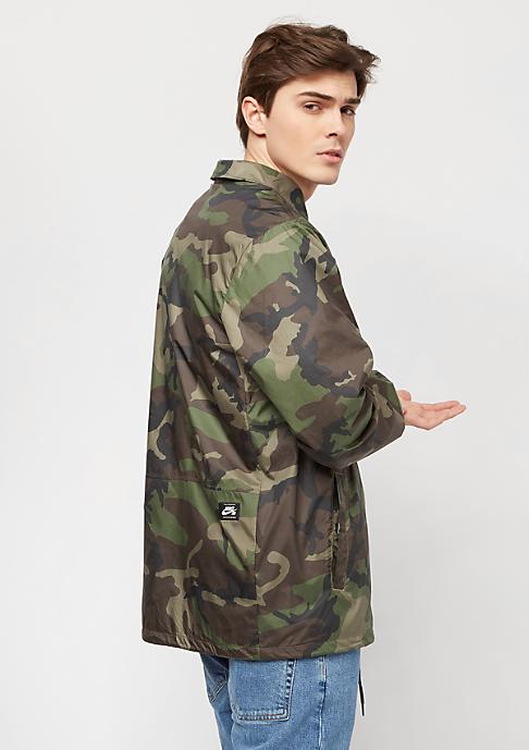 NIKE SB SB Jacket Coaches Icon medium olive/black