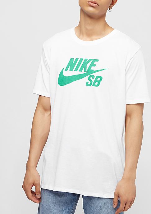 NIKE SB Logo white/menta