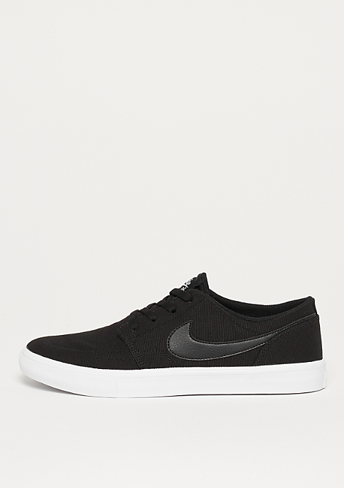 NIKE SB Solarsoft Portmore II Canvas black/black/white