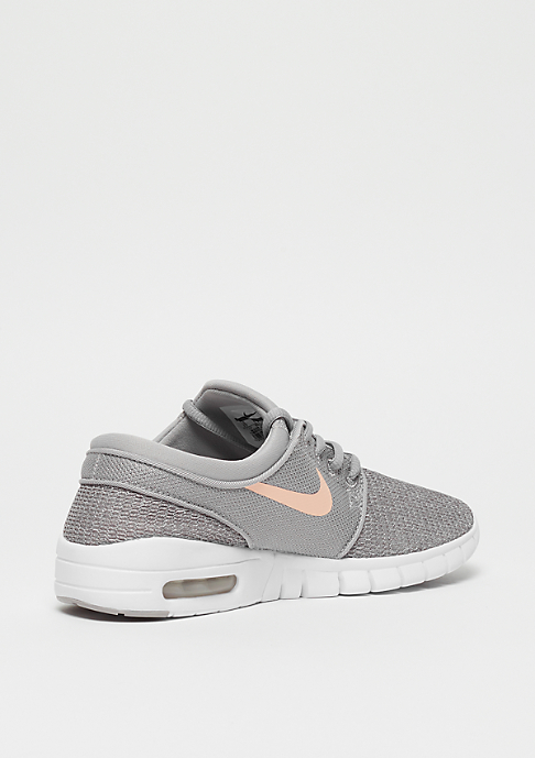 NIKE SB Stefan Janoski Max (GS) atmosphere grey/crimson tint-vast grey