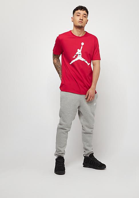 NIKE Trainingshose Sportswear Jogger dark grey heather/white