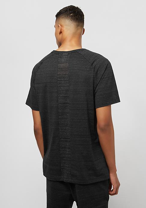 NIKE AV15 Top SS Knit black/htr/white