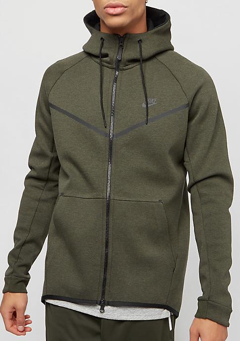 NIKE Tech Fleece sequoia/htr/black