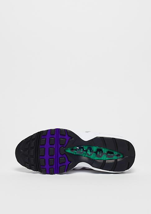 NIKE Wmns Air Max 95 white/court purple-emerald green