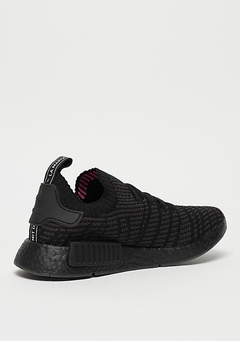adidas NMD R1 STLT PK core black/ultility black/solar pink