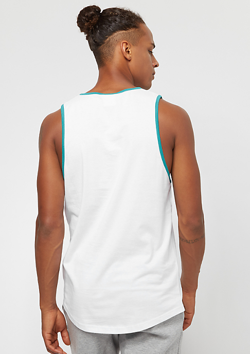 New Era Coast To Coast Long Tank MLB Florida Marlins white
