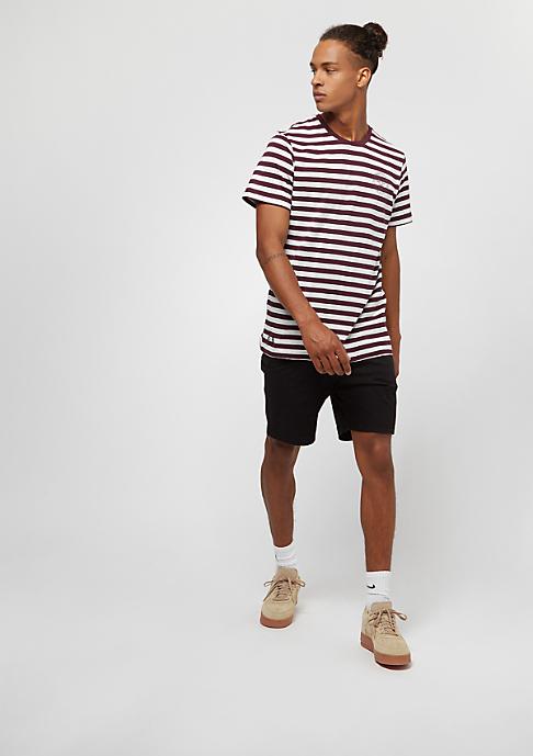 New Era College Pack Striped maroon/white