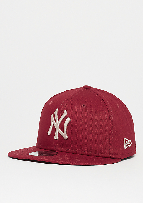 New Era 9Fifty MLB New York Yankees League Essential cardinal/stone