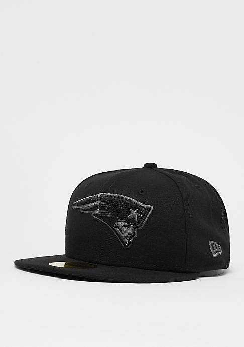 New Era 59Fifty NFL New England Patriots black/storm grey