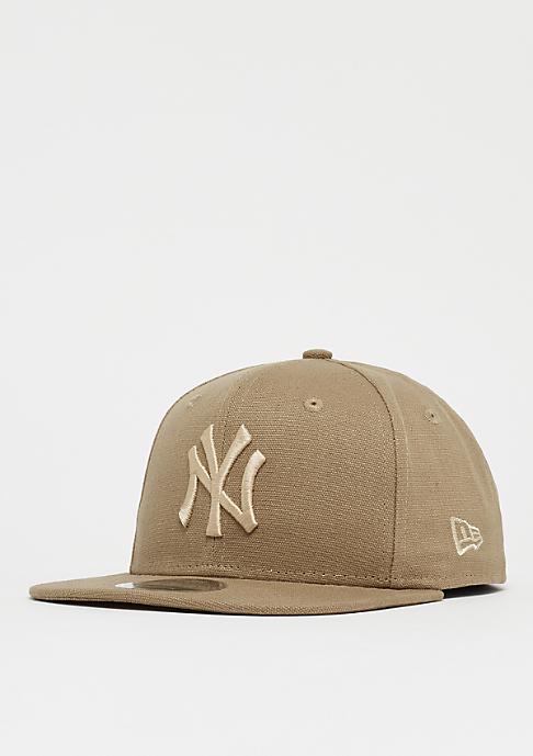 New Era 9Fifty MLB New York Yankees Canvas camel/camel