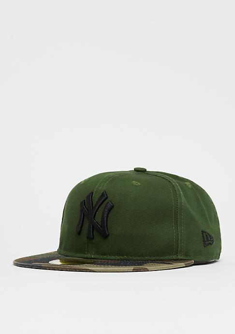 New Era 59Fifty MLB New York Yankees Washed Camo green/camo/black