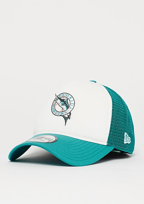 New Era 9Forty MLB Florida Marlins Coast To Coast white/otc