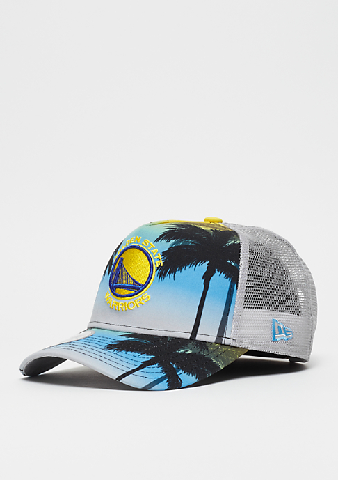 New Era 9Forty NBA Golden State Warriors Coastal Heat yelllow/multi