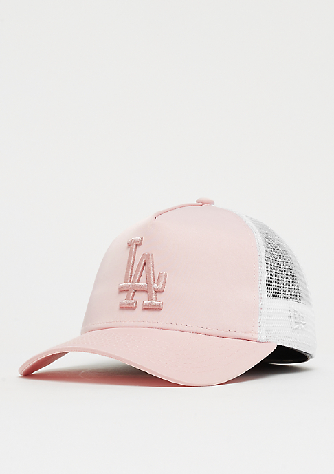 New Era 9Forty Trucker MLB Los Angeles Dodgers Satin pink/pink