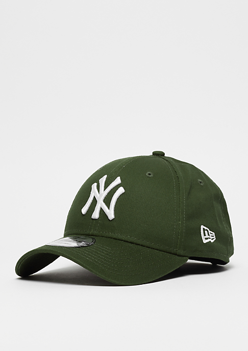 New Era 9Forty MLB New York Yankees Essential rifle green/white