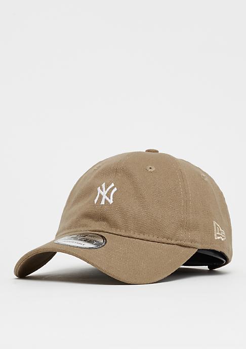 New Era 9Forty MLB New York Yankees Canvas camel/white