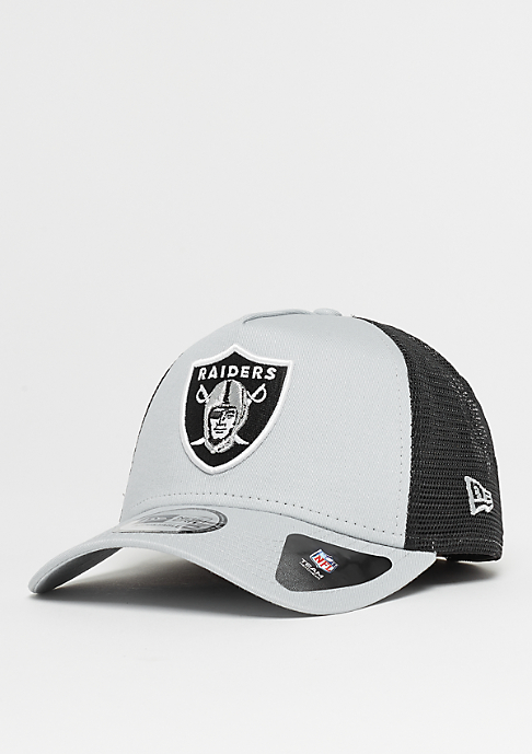 New Era 9Forty NFL Oakland Raiders Team Trucker grey