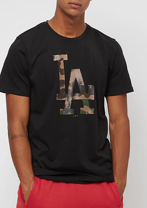New Era Infill Logo MLB Los Angeles Dodgers black