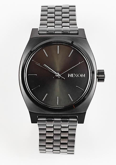 Nixon Uhr Medium Time Teller all black