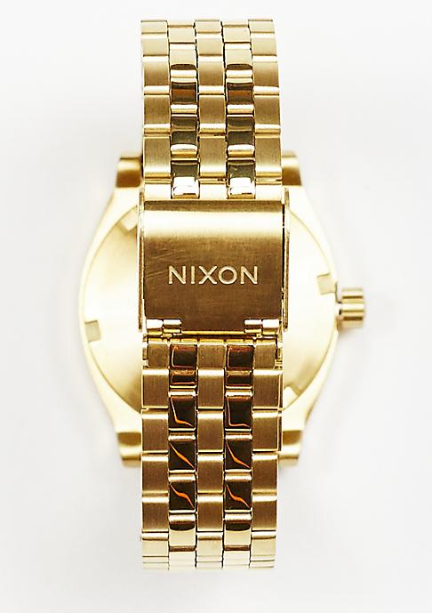 Nixon Uhr Medium Time Teller all gold