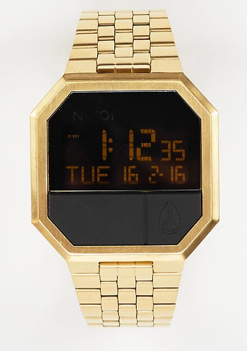 Nixon Uhr Re-Run all gold