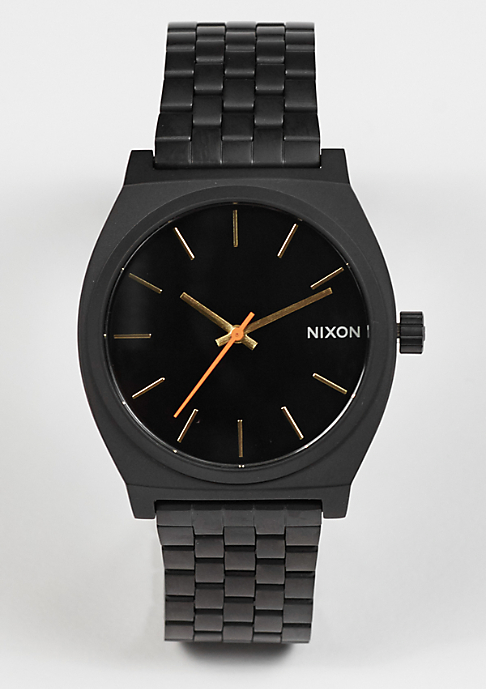 Nixon Uhr Time Teller all black/surplus