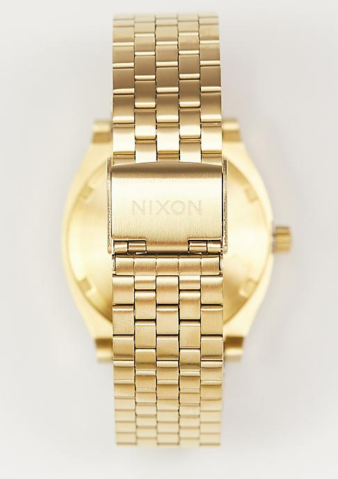 Nixon Uhr Time Teller all gold/black sunday