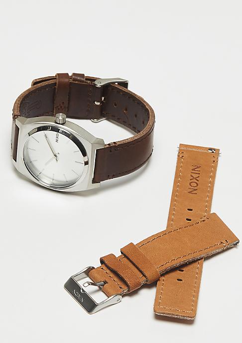 Nixon Time Teller Pack silver/brown/tan